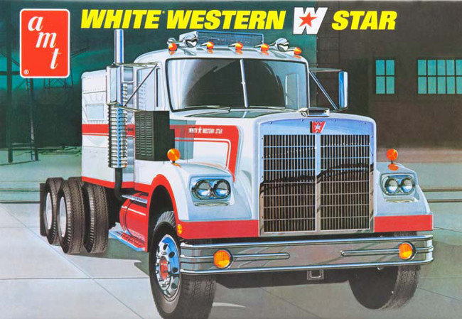 AMT724/061:25 SCALE WHITE WESTERN STAR